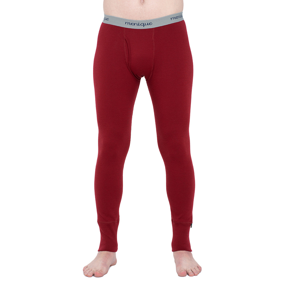 menique Men's Merino 250 Pants RB Royal Cherry Color