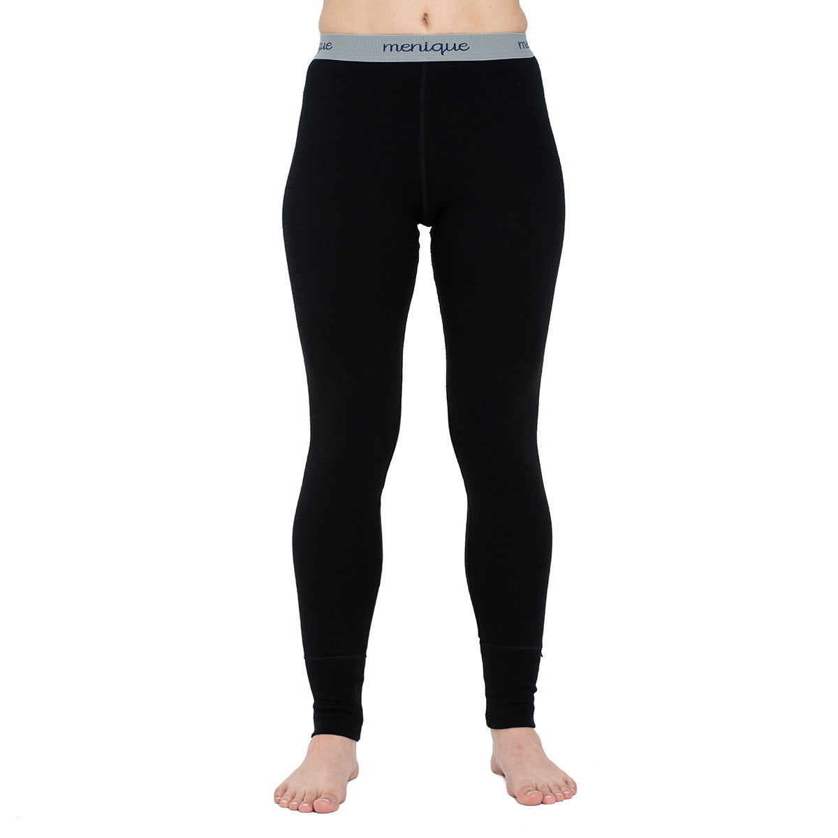 menique Women's Merino 250 Pants RB Black Color