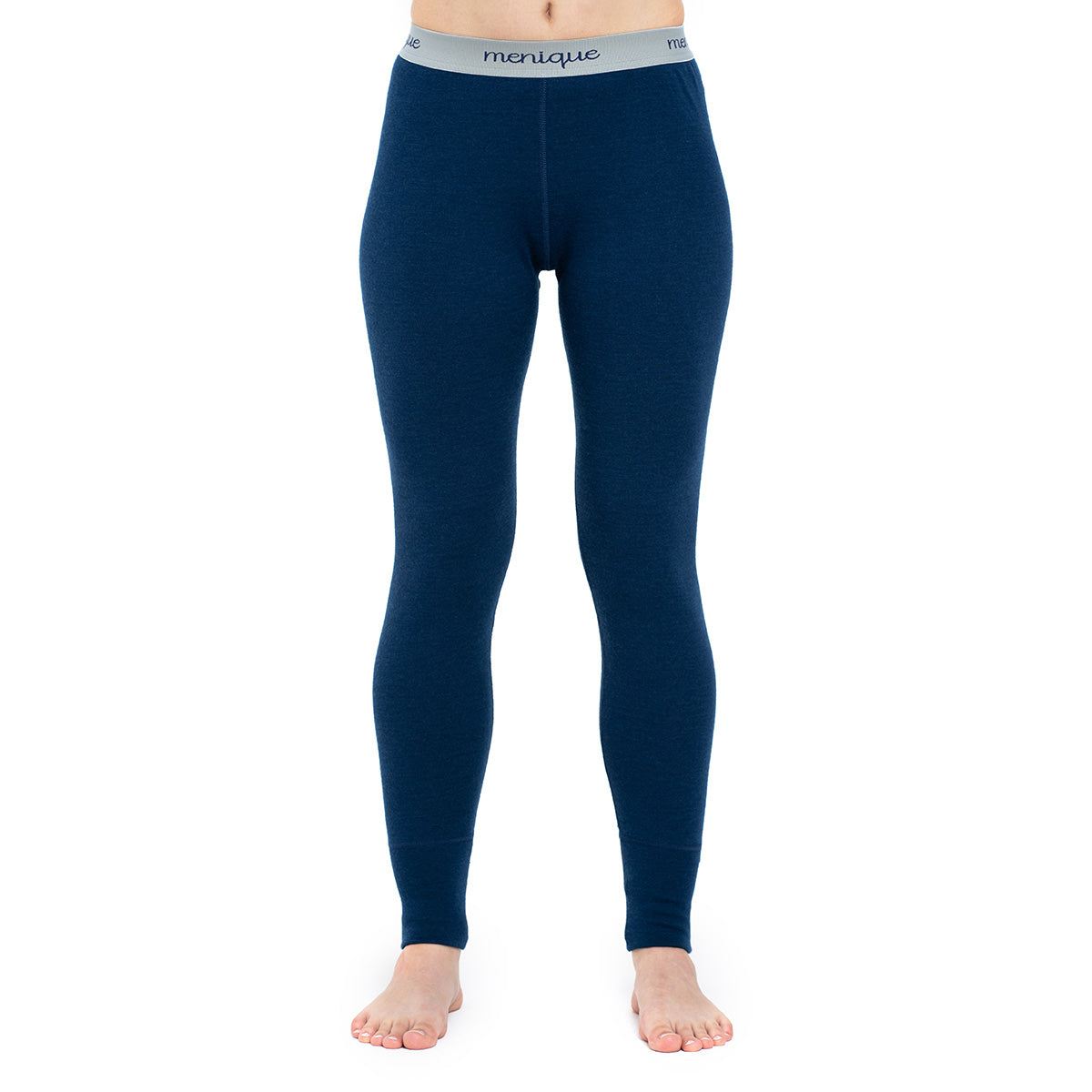 menique Women's Merino 250 Pants RB Dark Blue Color