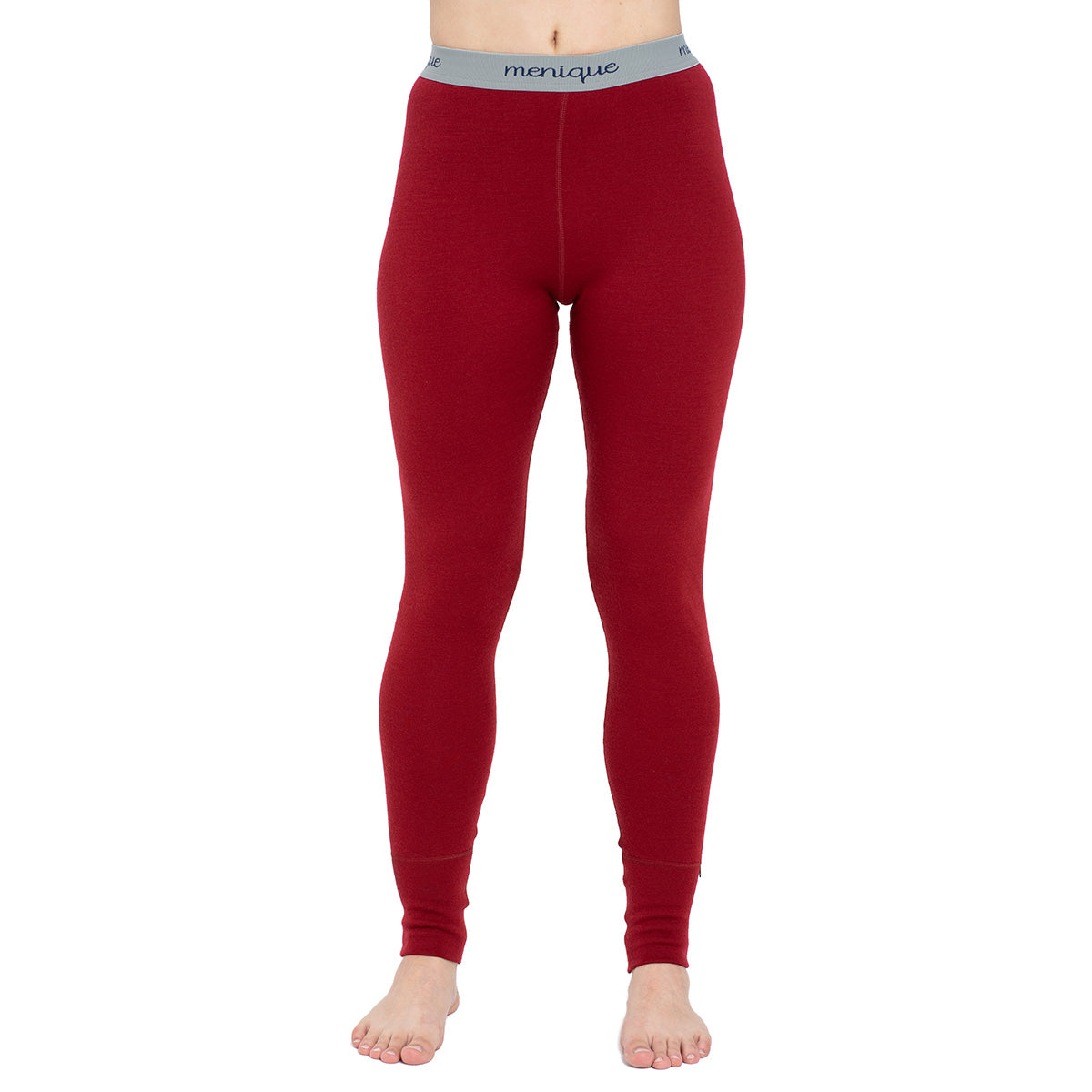 menique Women's Merino 250 Pants RB Royal Cherry Color