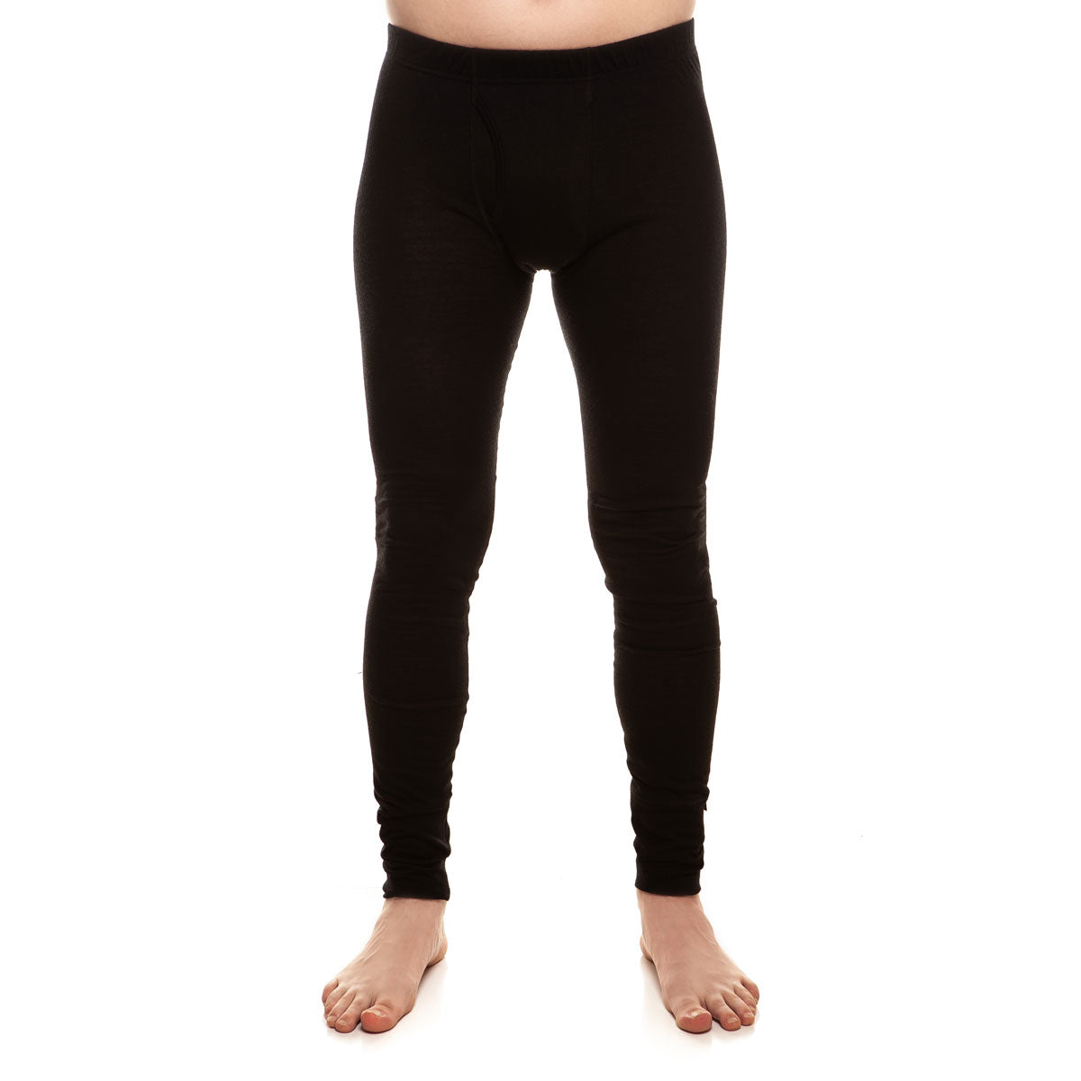 menique Men's Merino 160 Pants Black Color