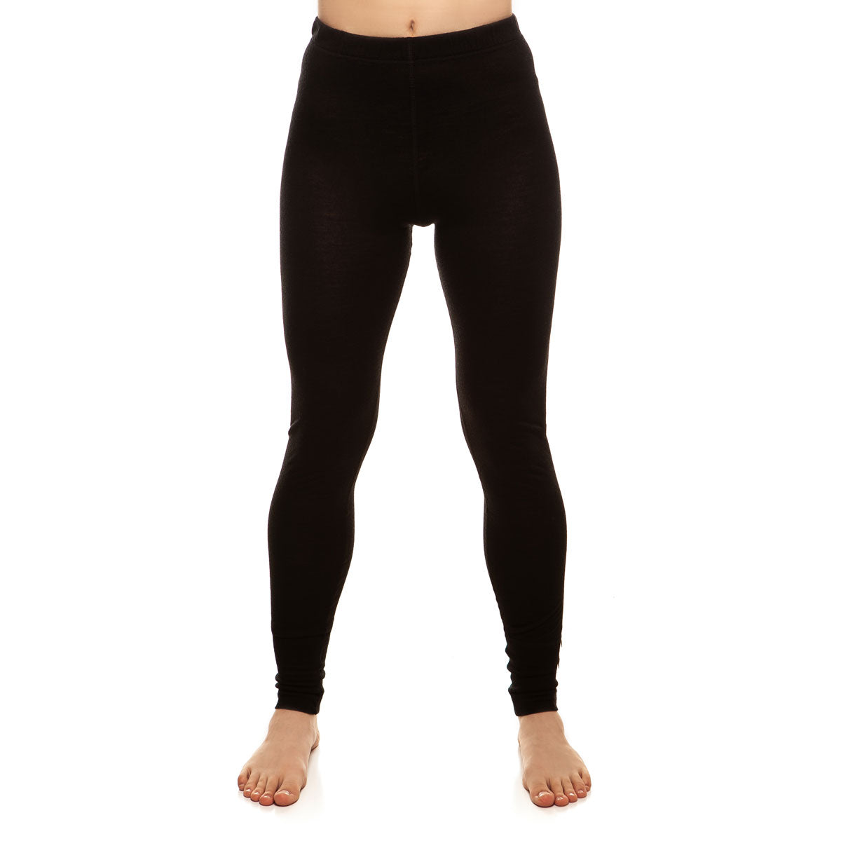 menique Women's Merino 160 Pants Black Color