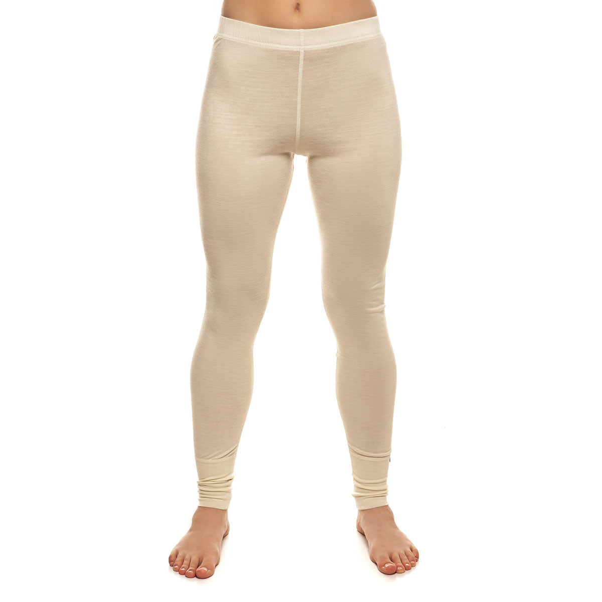 menique Women's Merino 160 Pants Natural Color