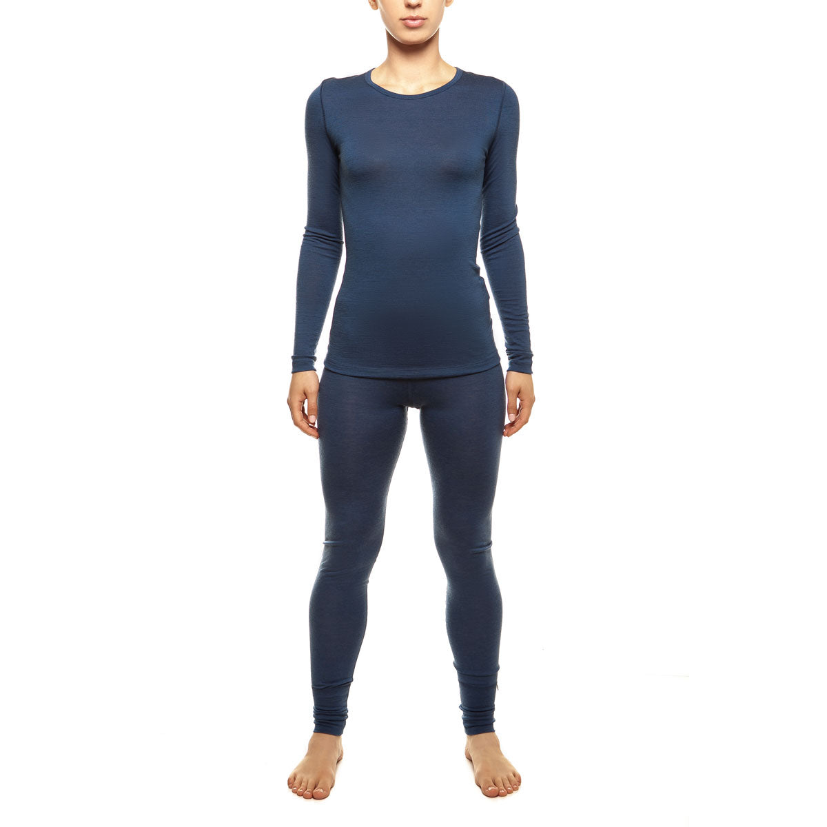 Women's Merino 160 Long Sleeve Set Denim