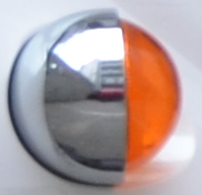 Blinkerglas hinten links orange