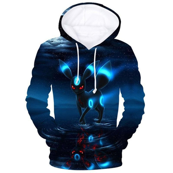 Pokemon Hoodie Umbreon Sweatshirt