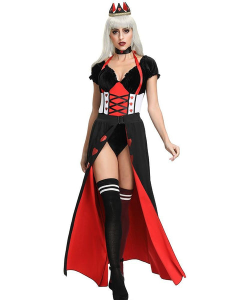 Adult The Queen Of Hearts Womens Halloween Costume