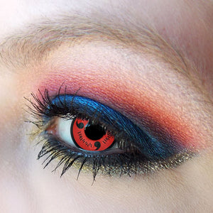 Sharingan Cosplay 3 Colors (12 Month) Contact Lenses