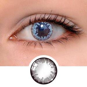 Anne Grey Colored Contact Lenses