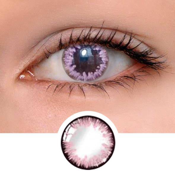 Anne Pink Colored Contact Lenses