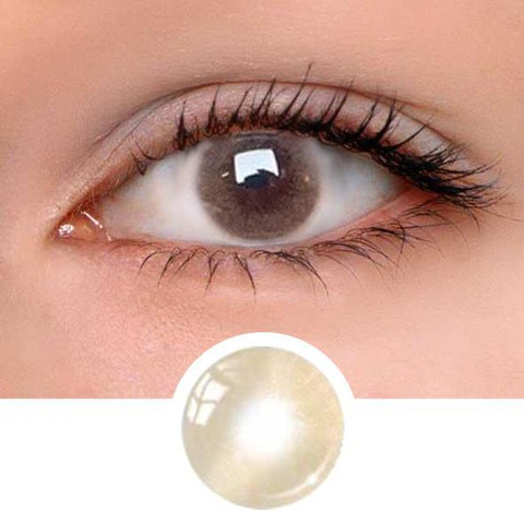 Aurora Brown Colored Contact Lenses