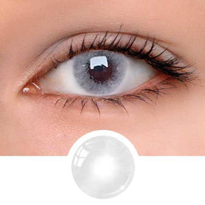 Aurora Grey Colored Contact Lenses