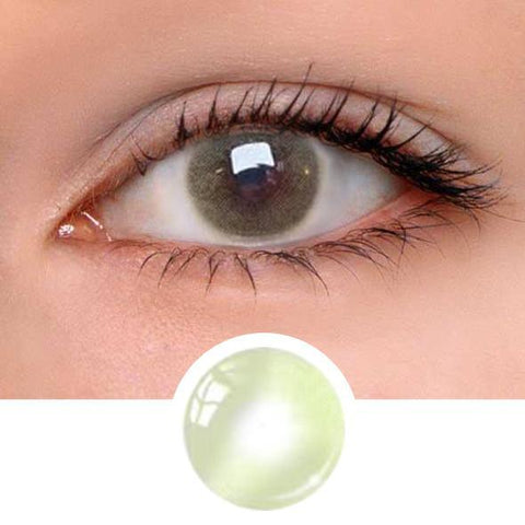 Aurora Yellow&Green Colored Contact Lenses