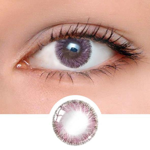 Caribbean Pink Colored Contact Lenses