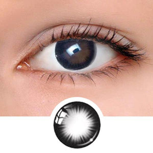 Chic Black Colored Contact Lenses