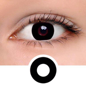 Darknight Black Colored Contact Lenses