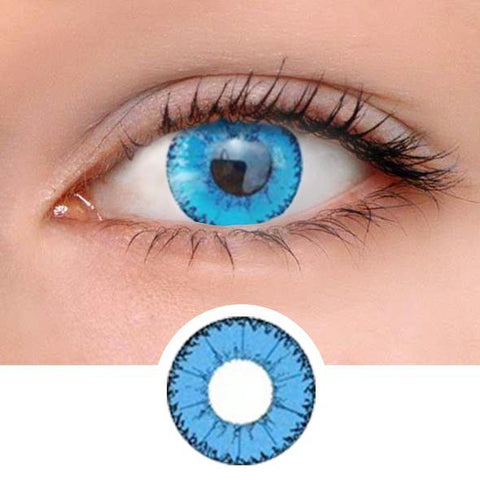 Eye Devil Blue Colored Contact Lenses
