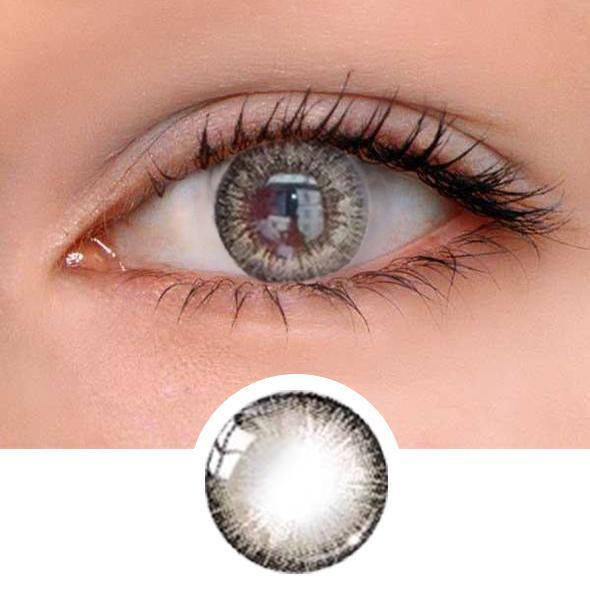 Dolce Grey Colored Contact Lenses