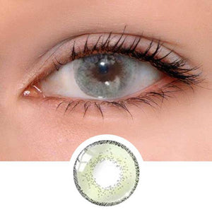 Edge Green Colored Contact Lenses