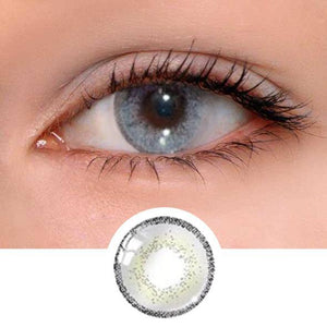 Edge Grey Colored Contact Lenses