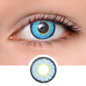 Elf Blue Colored Contact Lenses
