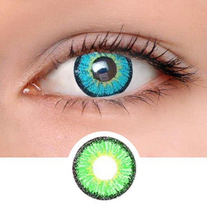 Elf Green Colored Contact Lenses