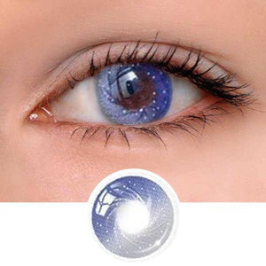 Galaxy Grey Colored Contact Lenses