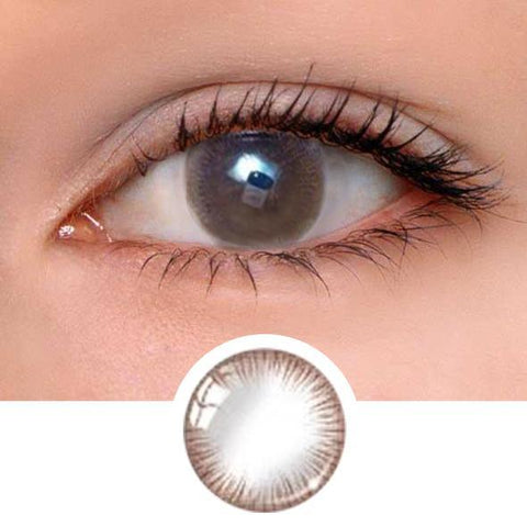 Girl Chocolate Colored Contact Lenses