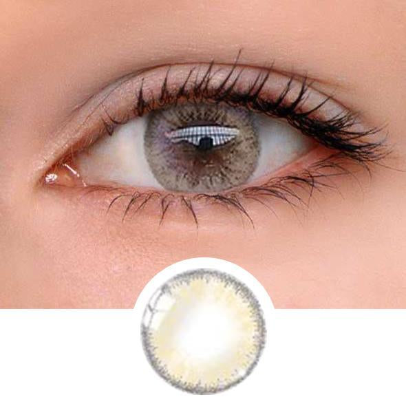 Glass Brown Colored Contact Lenses