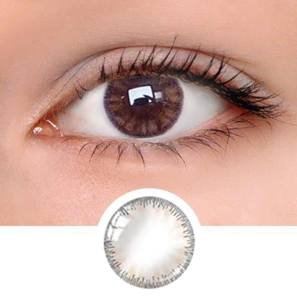 Glass Royal Brown Colored Contact Lenses