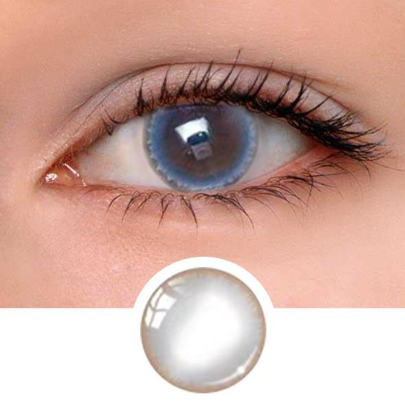 Halo Grey Colored Contact Lenses