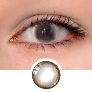 Hazelnut Chocolate Colored Contact Lenses