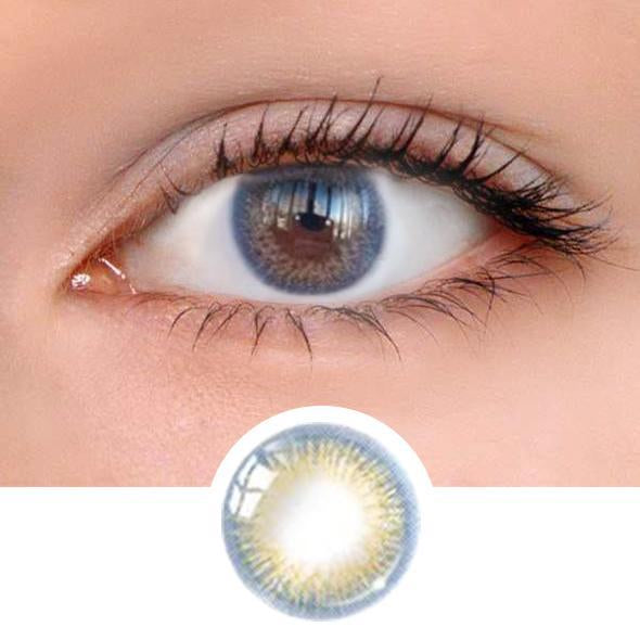 Iris Blue Colored Contact Lenses