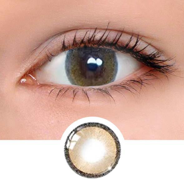 Jelly Brown Colored Contact Lenses