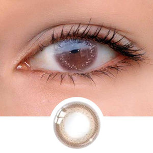 K24 Chocolate Colored Contact Lenses