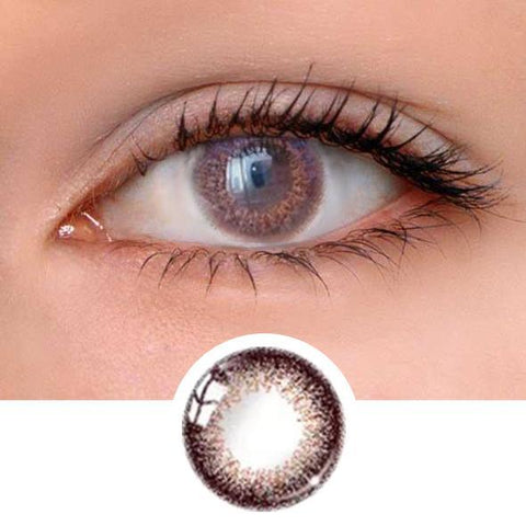 Lady Brown Colored Contact Lenses