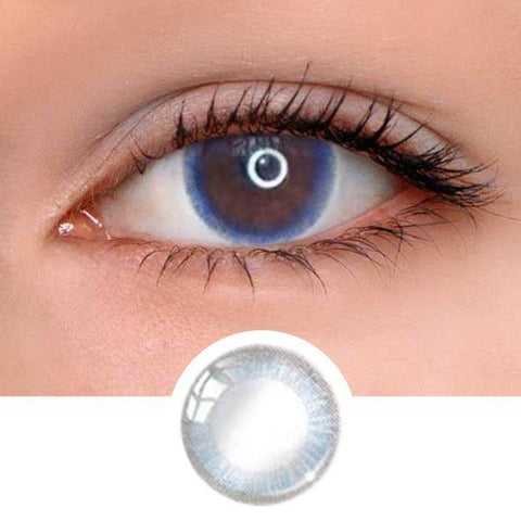 Little Blue Ring Colored Contact Lenses