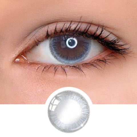 Little Grey Ring Colored Contact Lenses