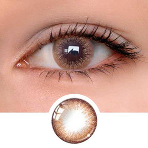 Macaron Brown Colored Contact Lenses