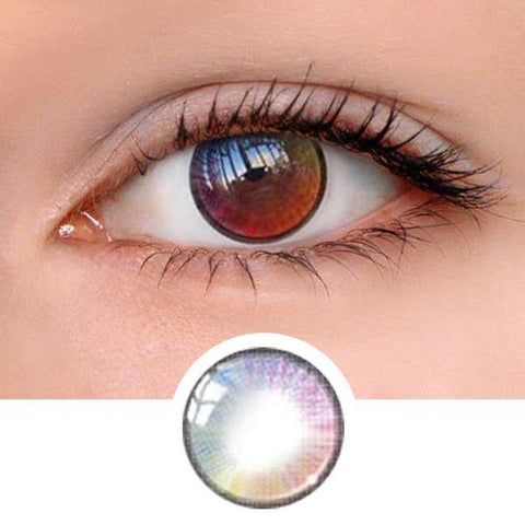 Mary Sue Rainbow Colored Contact Lenses