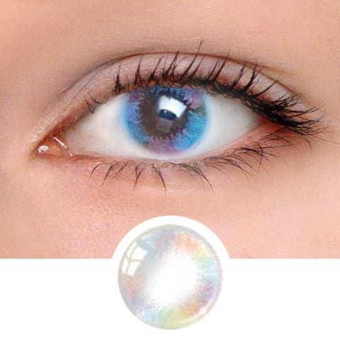 Mermaid Tears Pink Colored Contact Lenses
