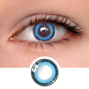Moonlight Blue Colored Contact Lenses