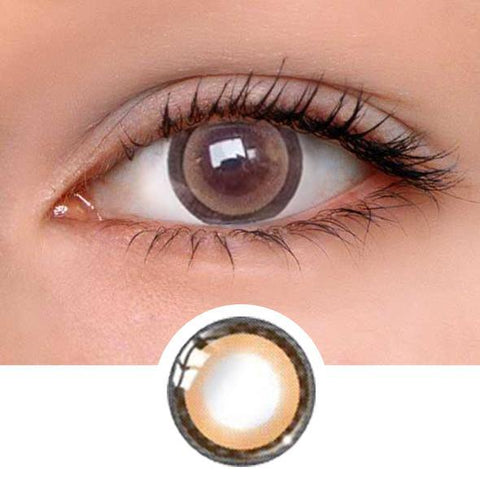 Moonlight Brown Colored Contact Lenses