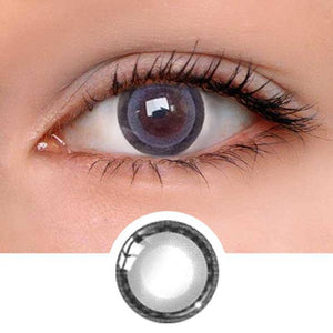 Moonlight Grey Colored Contact Lenses