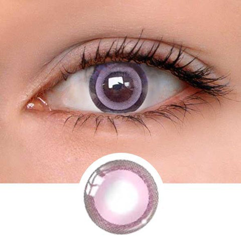 Moonlight Pink Colored Contact Lenses