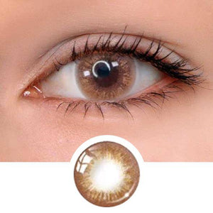 Muik Brown Colored Contact Lenses