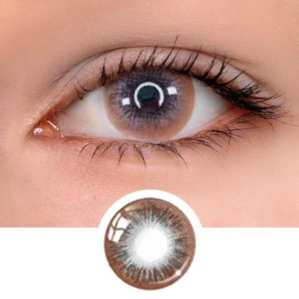 Muik Grey Colored Contact Lenses