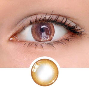 Natural Bown Colored Contact Lenses