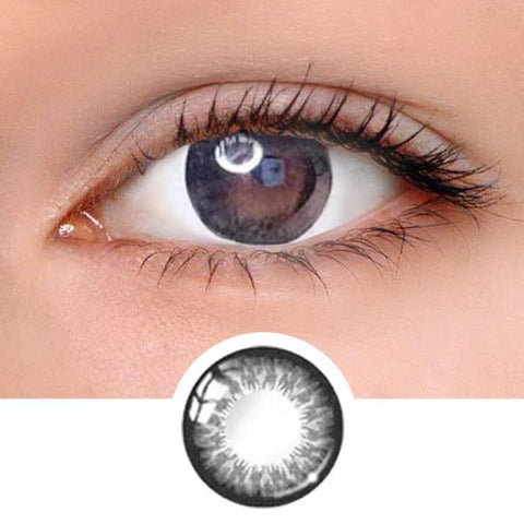 Natural Dali Black Colored Contact Lenses
