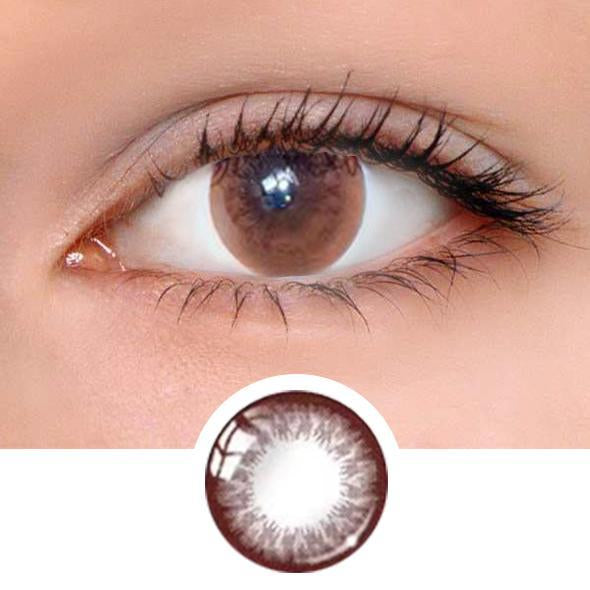 Natural Dali ChocolateColored Contact Lenses